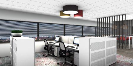 WS-vormule -ontwerp-kantoorinrichting